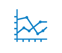 analytics graph icon