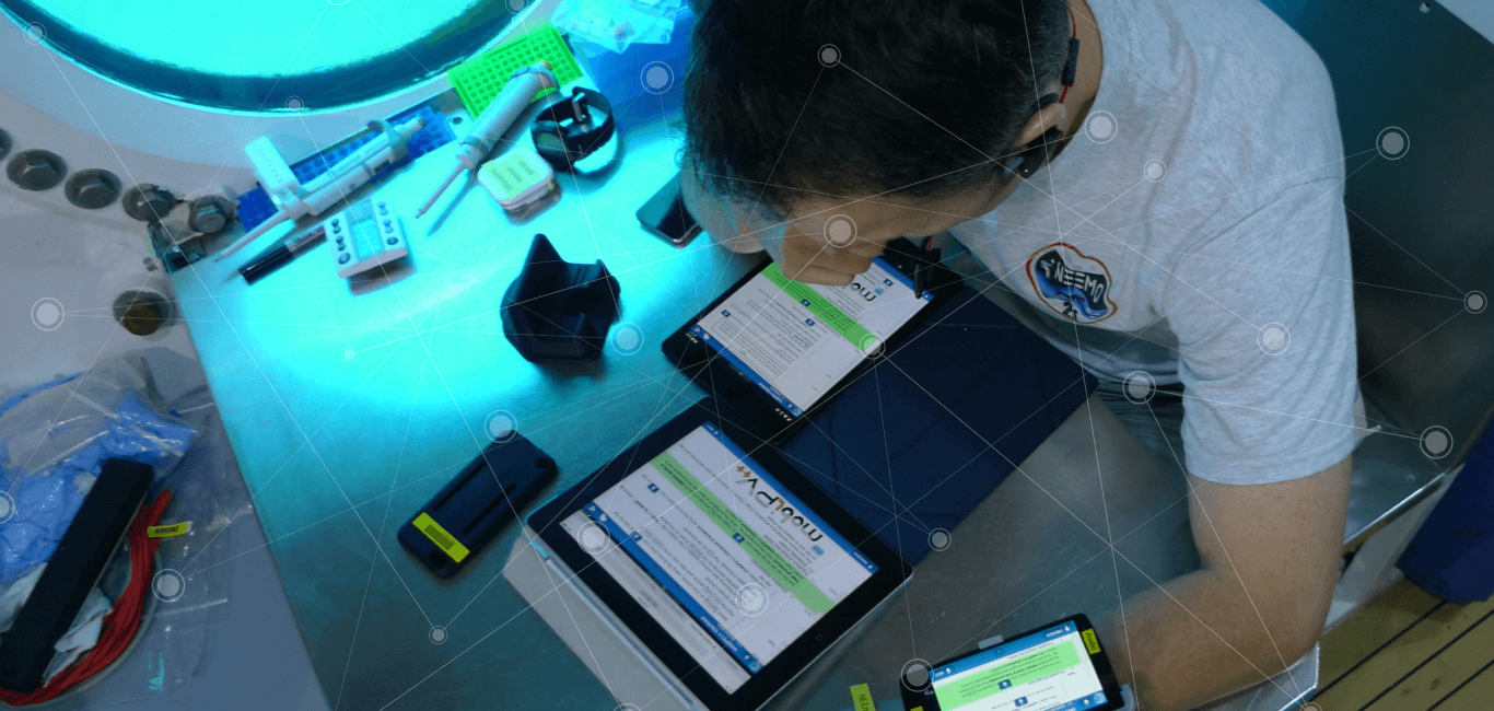 Mobi PV software in use marines