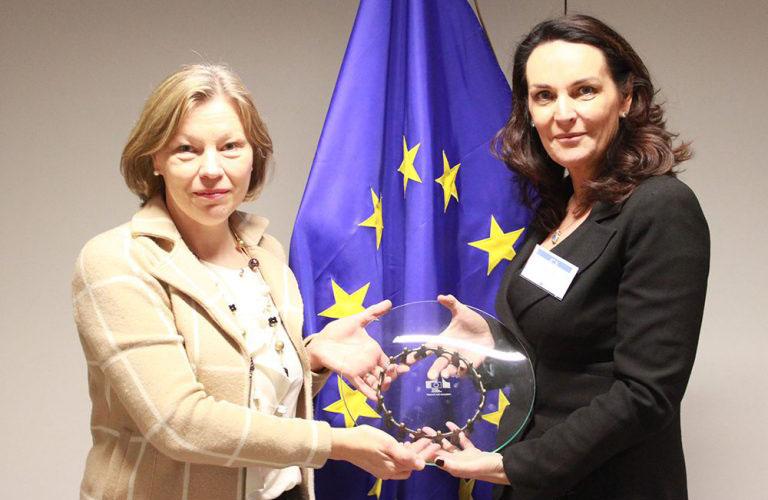 EU Award for Sarah Bourke